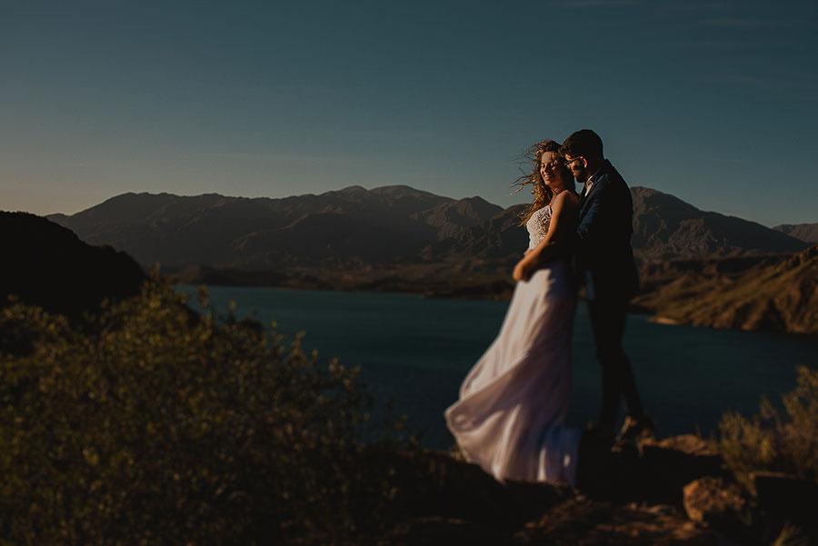 boda en la cordillera de los andes