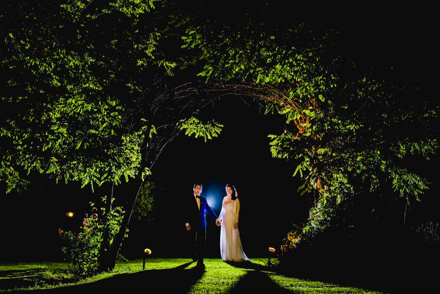 Finca el pino en Maipu mendoza La novia en la ceremonia y los novios