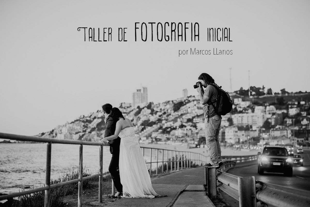 Taller de Fotografía Inicial, capacitación por Marcos Llanos